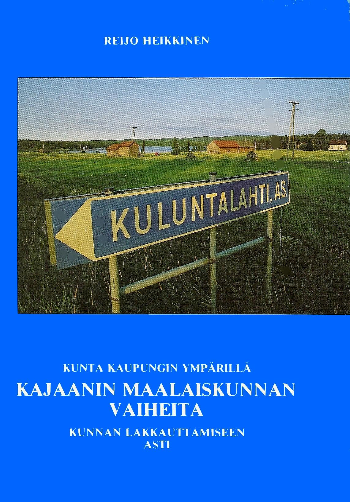 Kajaanin maalaiskunnan historia 1984