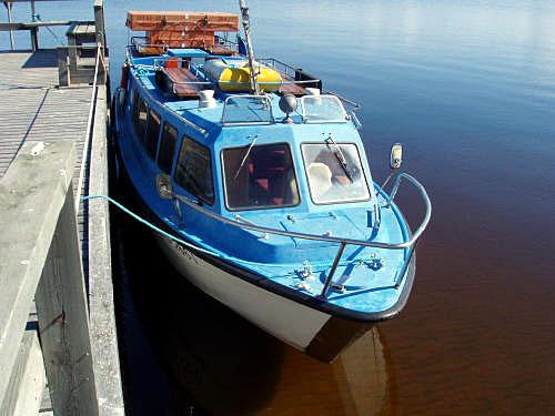 Ärjä-vesibussi on liikennöinyt Ärjään jo 1970-luvun alusta.