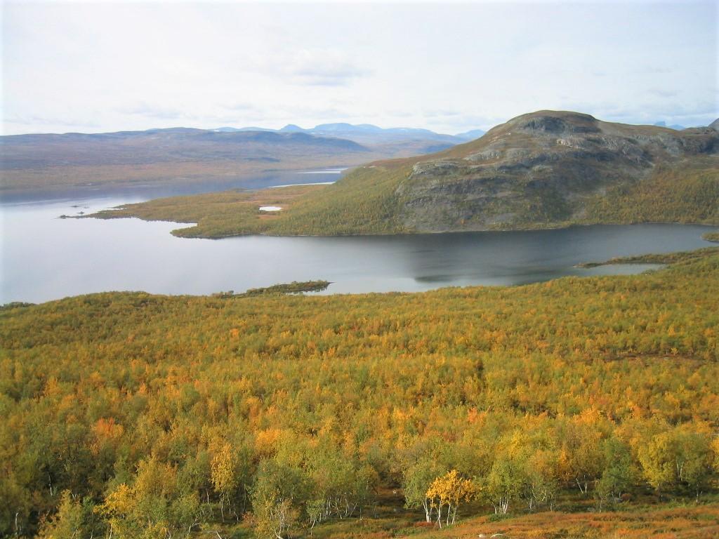 Mallatunturi ja Kilpisjärvi.